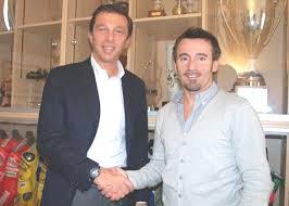 Andrea Dell'Orto,, Presidente SIAS, con Max Biaggi