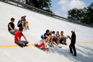 Fittipaldi a Monza