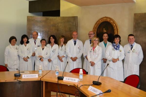 La Breast Unit di Senologia del San Gerardo di Monza al gran completo