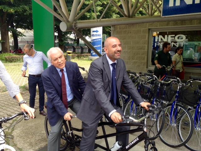Capelli in bici col sindaco
