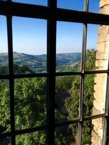 Castello Dal Verme panorama