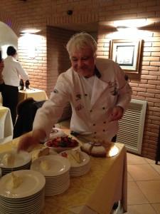 Lo chef Giuseppe Terno