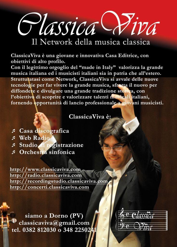 ClassicaViva, il network della musica classica
