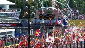 Podio GP Monza