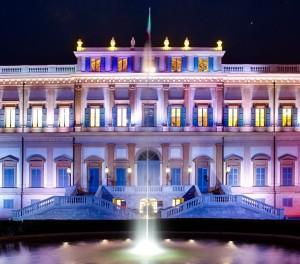 Villa Reale Notturna taglio