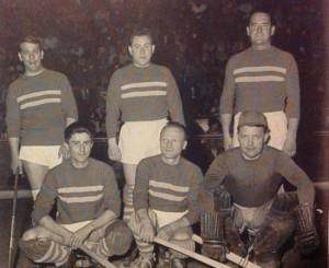 Gianni Bettini ai tempi dell'Hockey Monza: è il primo in piedi a sinistra. Si riconosce anche Luigini Kullman , ultimo in piedi a destra
