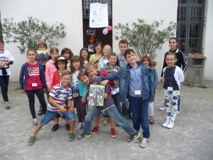 I bambini protagonisti della Caccia al Tesoro alla ricerca del Codide Arese Borromeo a Cesano