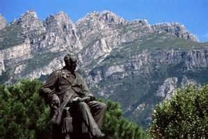 Lecco Monumento al Manzoni
