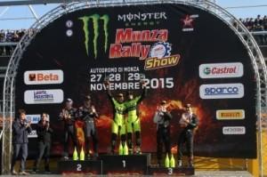 Monza Rally Show poker di Valentino Rossi