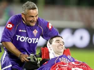 Stefano Borgonovo e l'amico Baggio