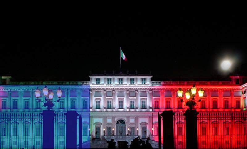 Villa Reale bandiera francese