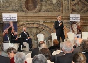 L'intervento di Paolo Ferrario, Segretario Generale di APA Confartigianato Imprese Milano e MB