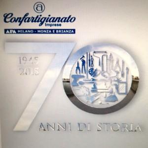 APA Confartigianato Logo 70°