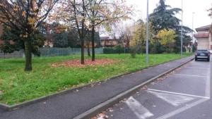 Agrate Brianza: l'area verde di via Puccini area dove sarà interrata la vasca