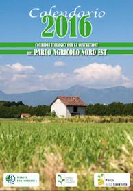 La Copertina del calendario del Parco Agricolo Nord Est