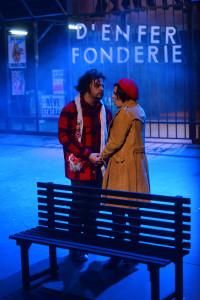 La Bohème nell'allestimento di Leo Muscato chiude la stagione lirica del Teatro Sociale di Como (foto Umberto Favretto)