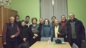 Foto di gruppo per il nuovo direttivo della sezione dell'AIDO di Desio