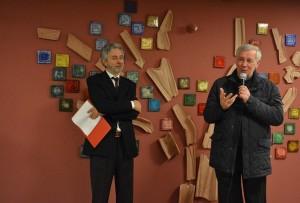 Roberto Mauri con Mons. Provasi