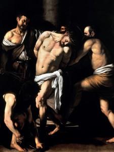 Caravaggio La flagellazione di Cristo