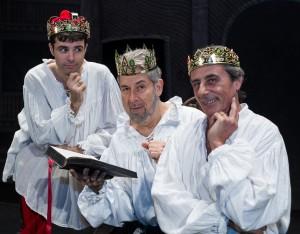 I protagonisti di Tutto Shakespeare in 90 minuti Foto Zamolo