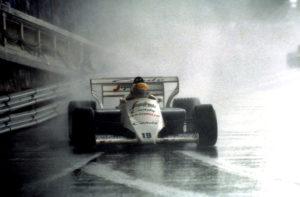 G.P. Monaco, 1984 Ayrton Senna (Toleman Hart) © FOTO ERCOLE COLOMBO