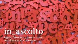 Carlo Guzzi In ascolto