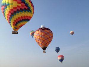 Monza Festival del Volo Milano-mongolfiere-colori