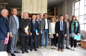 Presentazione alla autorità e alla stampa della mostra itinerante La Porta del Dialogo