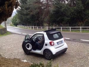 Smart forTwo Cabrio prova 7