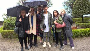 Villa Monastero a Varenna visitata da giornalisti americani