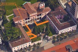 Villa Ghirlanda Silva, le parti interessate al cantiere