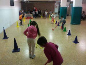 Hockey nelle scuole primarie di Monza