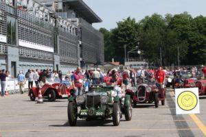 Mille Miglia all'Autodromo di Monza