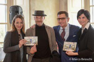 Monza Montevecchia, l'organizzatore Andrea Galbiati (secondo da destra ) con alcuni sponsor