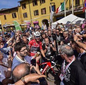 Muggiò bagno di folla per Giacomo Nizzolo (dal profilo FB)