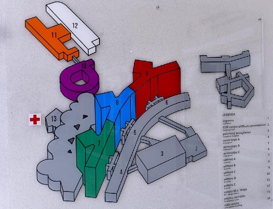 Il disegno dei blocchi del San Gerardo di Monza