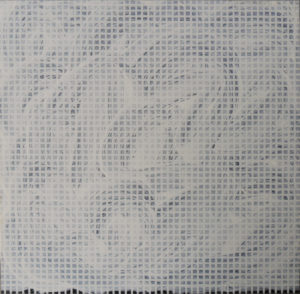 Tomas Rajlich, Untitled, 1974, acrilico su tavoletta, cm 77x76