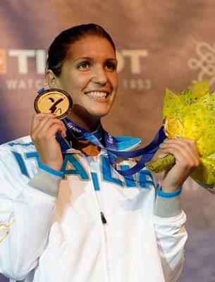 Arianna Errigo medaglia d'oro europei 2016