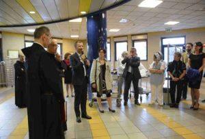 Inaugurazione del servizio mensa per i bisognosi