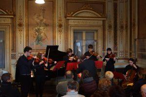 Allievi della Fondazione Musicale Vincenzo Appiani suonano in ensamble - courtesy of Fondazione Musicale Vincenzo Appiani