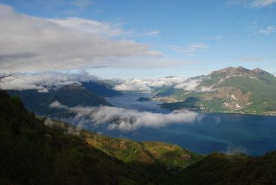 Esino Lario, vista sul lago