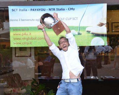 Golf Cup SCT Jacopo Cima