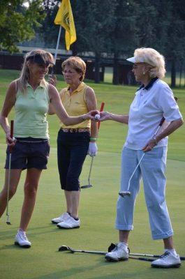 Golf Cup SCT l'ex tennista Lea Pericoli sul green