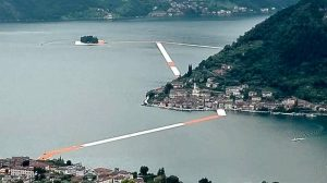 The Floating Piers a Sulzano Lago d'Iseo 3