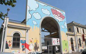Facciata di WOW Spazio Fumetto di Milano - Courtesy of WOW Museo