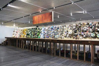 True Value - Theaster Gates - Installazione - 1' floor Podium Fondazione Prada Milano - courtesy of Fondazione Prada - Foto di Elizabeth Gaeta
