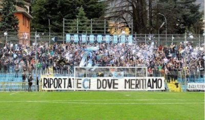 Calcio Lecco tifosi