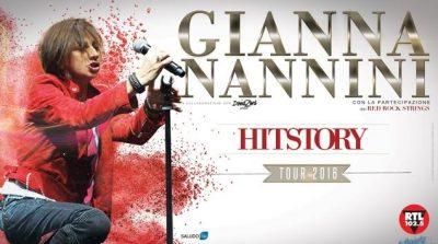Gianna Nannini Hitstory Tour 2016 Como