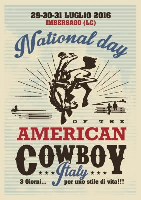 Imbersago National day american cowboy