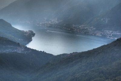Monte Palanzone panorama lago